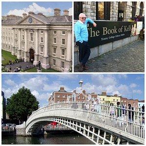 Trinity College, Book of Kells & Ha'Penny Bridge