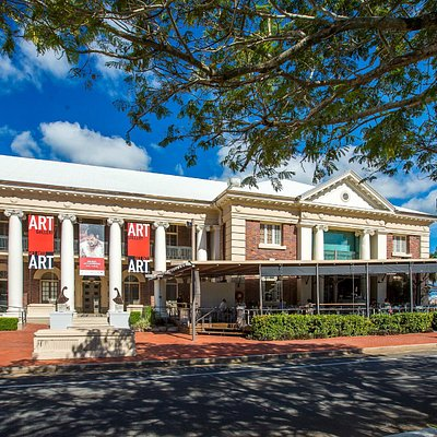 Cairns Regional Gallery Front Entrance