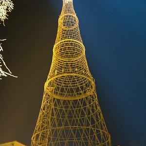 Шуховская башня, март 2014