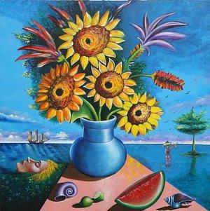 Sunflowers by Raul Speek