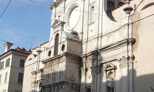 Santa Maria dei Miracoli,  facciata