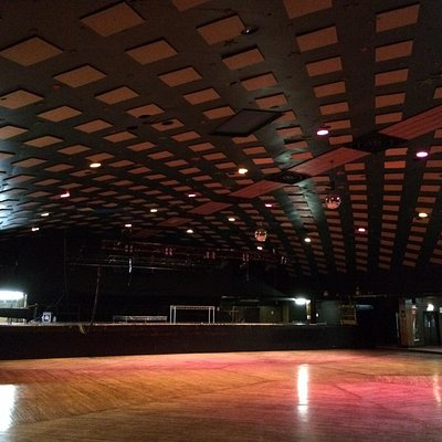 Inside the famous barrowland ballroom.