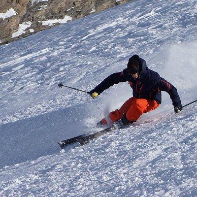 high level ski coaching