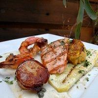 Seafood Combination platter!