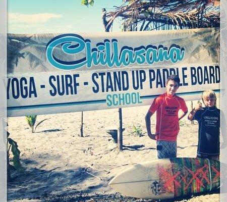 local kids from Chillasana Surf Team.