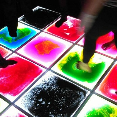 Liquid dance floor!