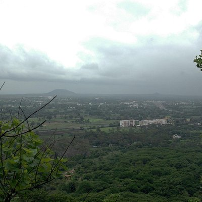 View of Indore from Ralamandal.