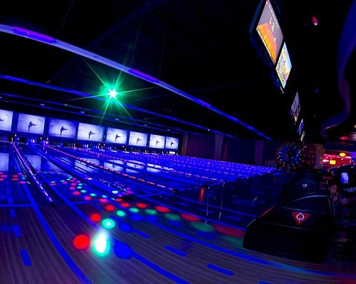 Cosmic Glow Bowling every night from 9-1 AM!