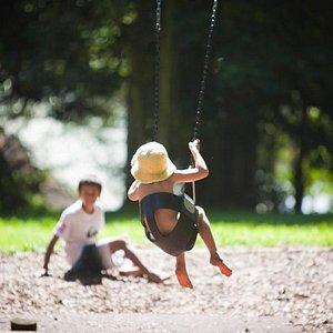 Playground at Rocky Creek Dam