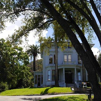 view of John Muir's home