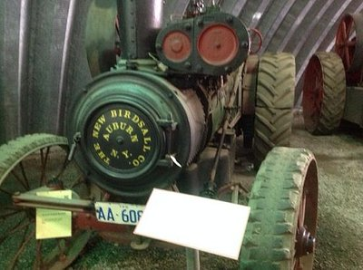 Steam Powered Farm Equipment