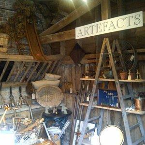 Artefacts the antiques shop