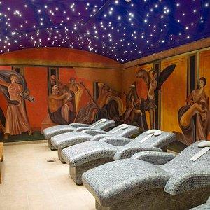 Sala de relax Villa de los Misterios