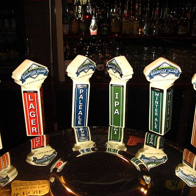 All your favourite Granville Island beers on tap