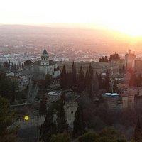 Alhambra vista desde La Silla del Moro