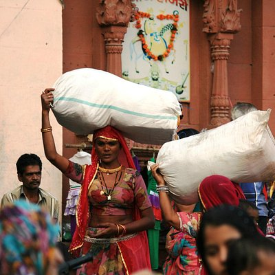Sadar bazaar activity