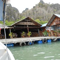 Arrival at the Restaurant Jetty