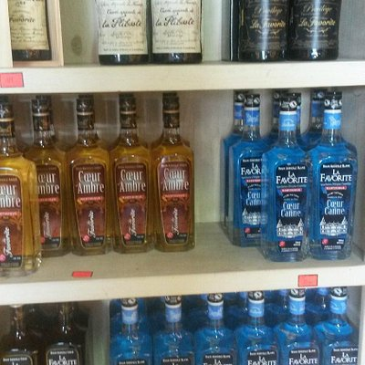 LARGE SELECTION OF OLD RHUM