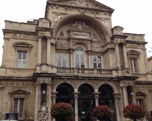 Opera house at Avignon