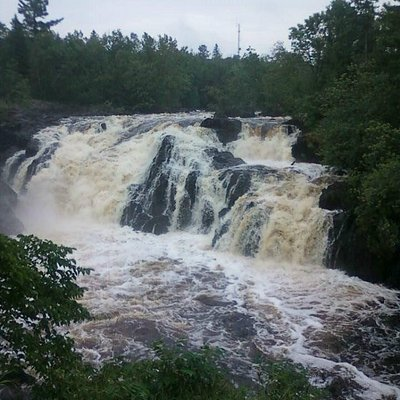 A view of the Falls