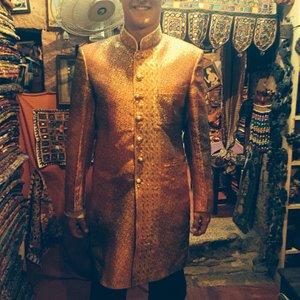 Shawani made at Desert Handicraft Emporium