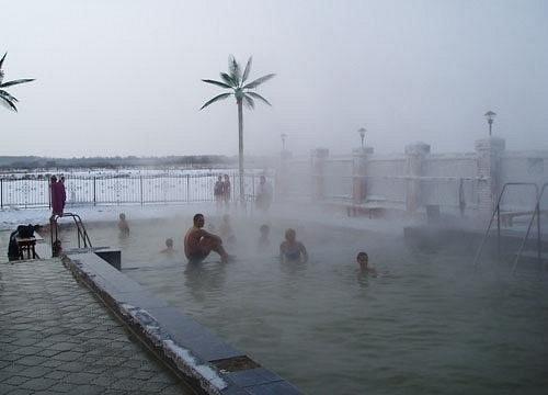 Hot springs Tyumen  Russia
