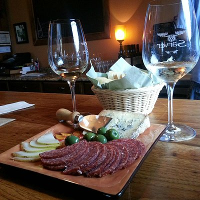 purchased food at Sarver Winery