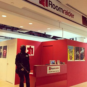 Roomraider SG - Real Escape Game - Our store in Orchard Central