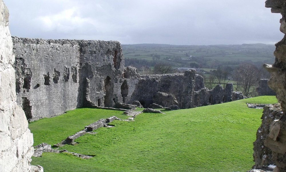 Denbigh Castle.