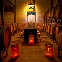 Sala de Barricas - the barrel room
