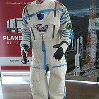 Roupa de astronauta para fotos