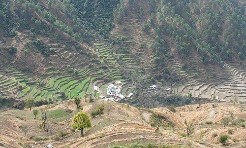 Pantwari village enrote
