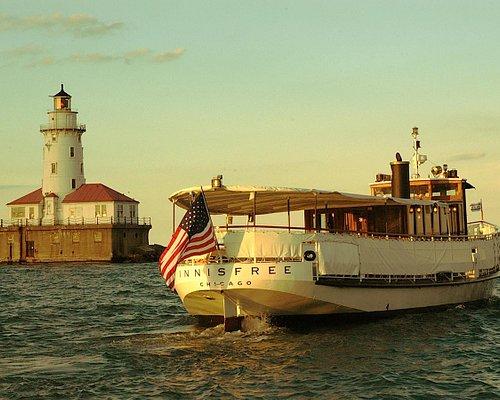 Innisfree on Lake Michigan - off the Chicago shore