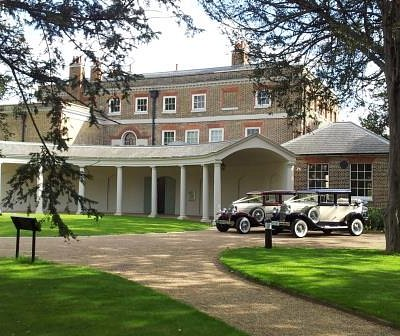 The gorgeous, grade II* listed Valentines Mansion