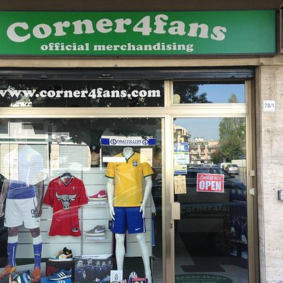 Corner4fans Store - Calcio Basket Rugby free time