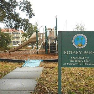 Playground @ adjacent Rotary Park