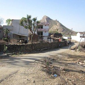 part of village