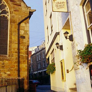 The closest pub to a church in the British Isles is found in St Peter Port!