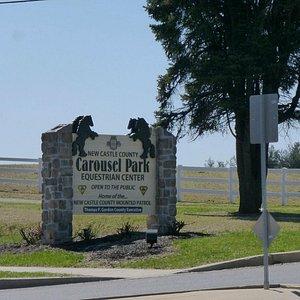 Carousel Park & Equestrian Center  Entrance