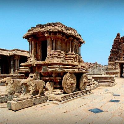 Stone Chariot, Vittala Temple Complex