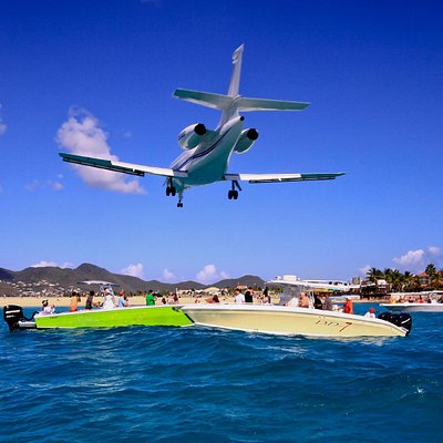 Famous St Maarten Juliana Airport WE STOP THERE !!!!