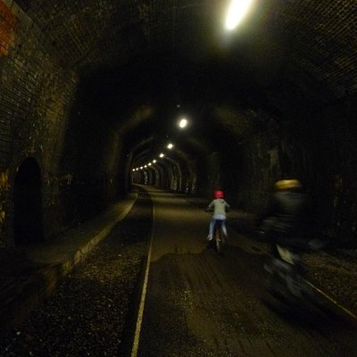 Several well-lit railway tunnels make this a 'must ride' attraction