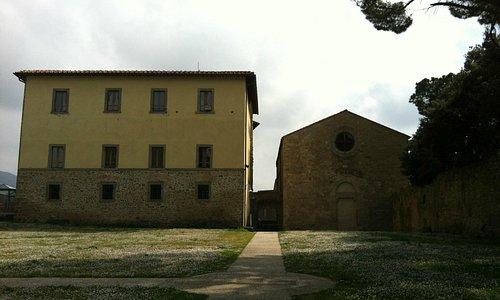 Il piazzale del Cassero di Castiglion Fiorentino