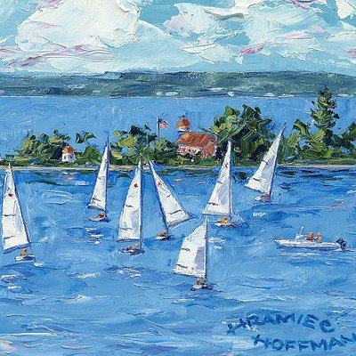 """Detail from """"Sailing School"""""""