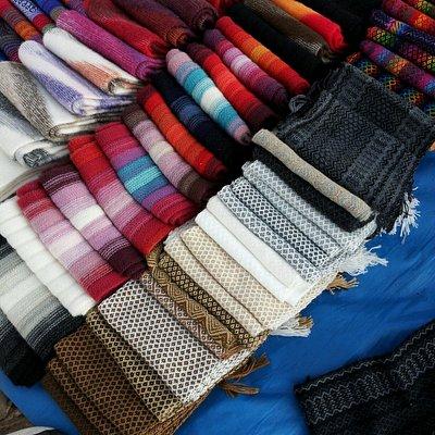 Bufandas y chales de lana