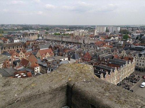 Uitzicht van het Belfort op de Grand Place