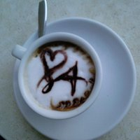 Caffè col cuoricino