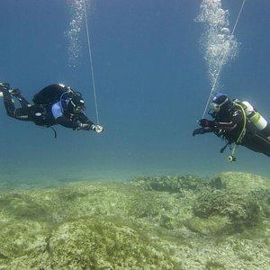 BSAC Diver Training in Protaras; Dive Leader