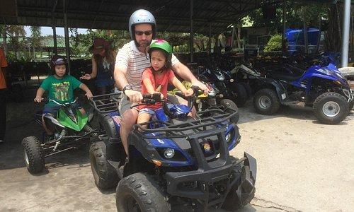 On the Quad Bikes (ATVs)