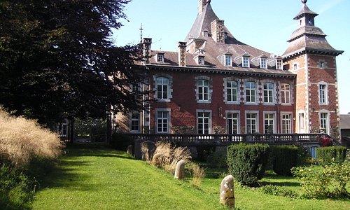 Voorzijde kasteel